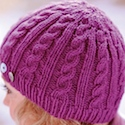 Cable hat pattern by Kirstie McLeod