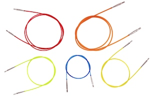 Blue cable for Knitpro interchangeable circular needles