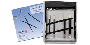 Knitpro Karbonz interchangeable