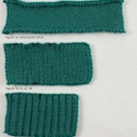 Your crochet and knitted ribbing